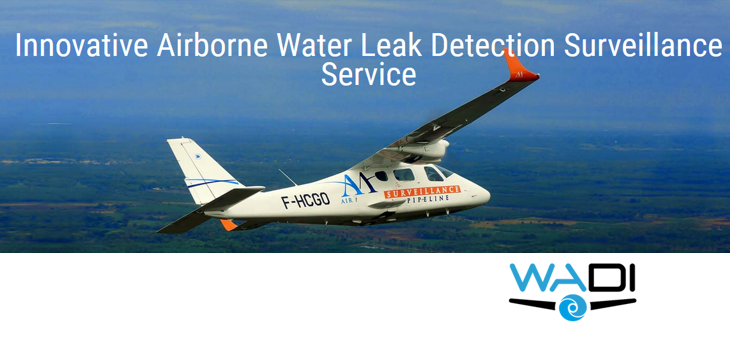 WADI - Innovative Airborne Water Leak Detection Surveillance Service