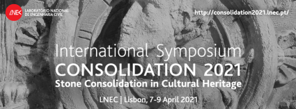 "International Symposium ""Consolidation 2021 - Stone Consolidation in Cultural Heritage"""