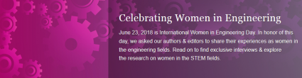 Springer publishing house asked LNEC's researcher Elisabete Arsénio to share her experiences as a woman in the engineering field