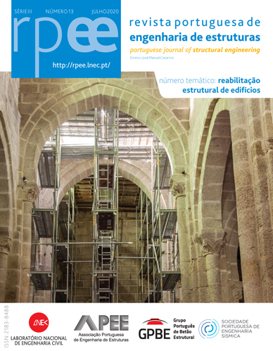 Portuguese Journal of Structural Engineering - Number 13 now available
